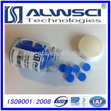 0-320 azul 11 ​​mm Silicone High Temperature Low Bleed GC Septa