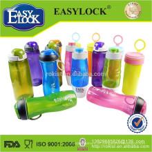 BPA livre esportes de plástico garrafa de água potável 580ML