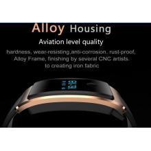 Smart Watch Android étanche intégré USB Wechat Interconnexion Cardiofréquencemètre La surveillance du sommeil Bluetooth Super - Long Standy