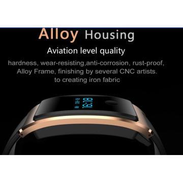 El rastreador de la aptitud, los relojes elegantes a prueba de agua de Bluetooth 4.0, el monitor del sueño y del ritmo cardíaco es compatible con los teléfonos inteligentes de Android