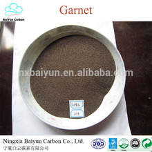 rough garnet 80 mesh sandblasting competitive abrasive garnet stone price