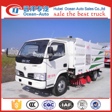 DFAC 4x2 mini street sweeper/road sweeper truck for sale
