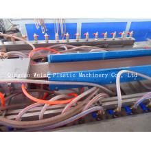 Linha de produção da placa de decking do WPC