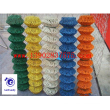 Colorful high quality chain link fence