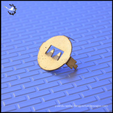 gold plated battery contact