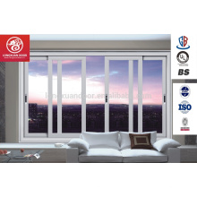Nuevo Diseño Energy Efficient Doble Acristalamiento Vidrio Aluminuim sliding Casement Windows Quality Choice