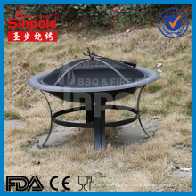 2016 Hot Selling Foldable Charcoal Fire Pit with BBQ Grill (SP-FT007)