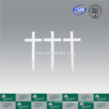 LUXES Traditional Wooden Crosses Cemetery&Graveyard Crosses