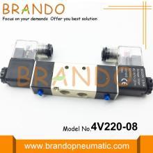 Válvula neumática solenoide serie 4V 4V220-08