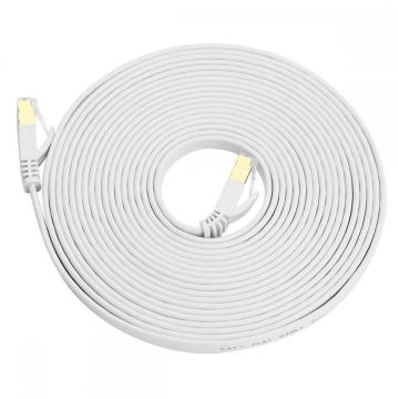 Cable Ethernet plano SFTP CAT7 / Cat6A de 30 pies