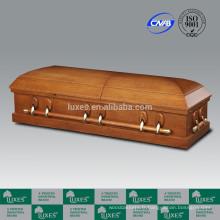 LUXES US placage coffret cercueil de cercueils à bas prix