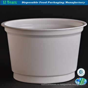Пластиковая чаша для мороженого / супа / йогурта
