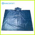 Clear Adult Emergency PE Rain Poncho Rpe-004
