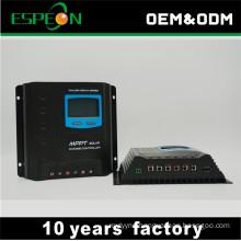 MPPT type solar controller 30A 12V 24V LCD display USB output