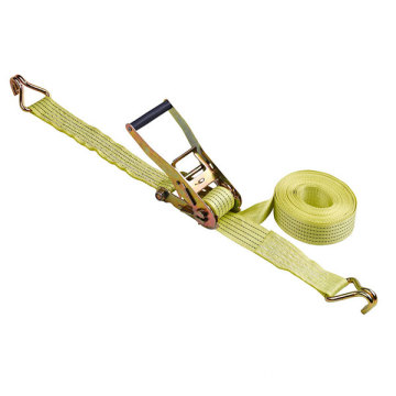 Ratchet tie down Cargo Lashing con linea nera