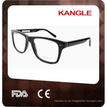 Mode Metall verziert Acetat Sonnenbrille
