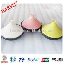 mini stoneware colorful Tajine pot