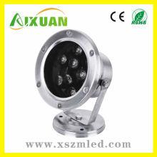 Hochleistungs-hohe Lumen 7 * 1w ip65 LED Unterwasser mit 2y Garantie
