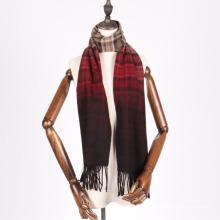 bufanda de lana teñida