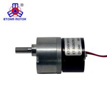 12v 37mm brushless dc gear motor for robot