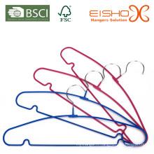 Archet PVC Coating Metal Hanger pour vêtements