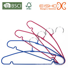 Rainbow PVC Coating Metal Hanger for Clothes