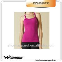 Custom 2013-2014 internal bra yoga tank top women,fitness wear