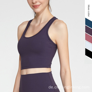 EU / US Size Stretch High Impact Yoga BH
