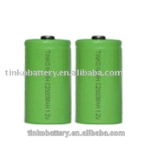 Free sample NI-MH SIZE C rechagreable battery