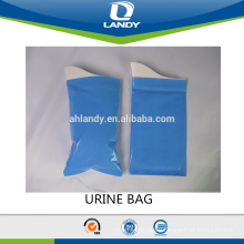 GOOD QUALITY PLASTIC URINE BAG DISPOSABLE PEE BAG