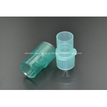 Conector plástico médico descartável do tubo