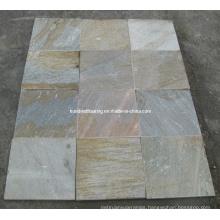 Yellow Wood Vein Culture Stone Slate Tile