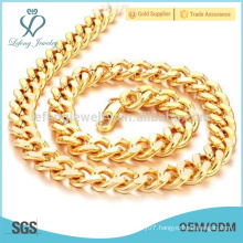 Solid cuban link gold chain 18k ,18k gold necklaces jewelry
