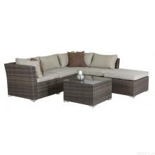 Wicker патио Lounge диван установить открытый сад мебель из ротанга