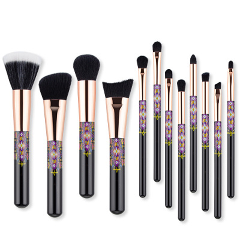 12pcs soft fiber brushes