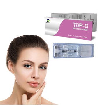 Seringue d'acide hyaluronique 1 ml injectable injectable de remplissage d'acide hyaluronique prix