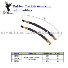 Tire Valve Extension and Rubber Flexible Extension