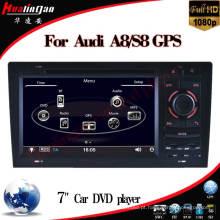 Vídeo de carro para Audi A8 (HL-8818GB) Navegação GPS