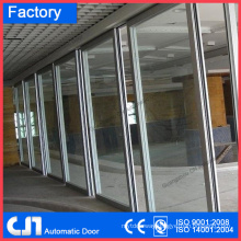 Automatic Moveable Glass Partitions Slide Door