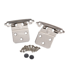 """Face Mount Self Closing 3/8"""" Inset Cabinet Hinges"""
