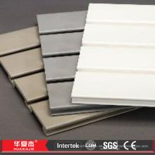 PVC Slatwall Platten WPC Slatwall Panel Kunststoff Slatwall Panel