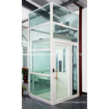 Glass elevator lifts