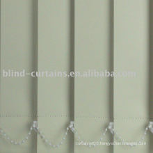 Colored vertical blinds