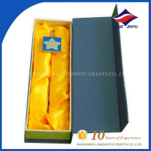 High quality square shape box metal star logo bookmark