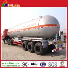 36 Cbm-58.3 Cbm Anhydrous Ammonia LPG Transport Trailer