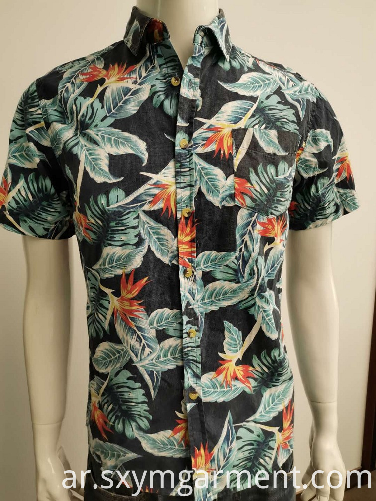 Mens Hawaii Shirt in summer