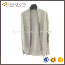 Womens gray cashmere cardigan