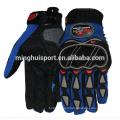 Minghui bonne qualité gants d'équitation vente chaude karting racing gants de moto