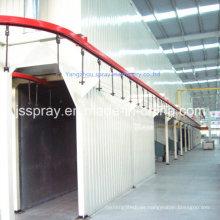 Horno de secado tipo puente industrial para línea de pintura