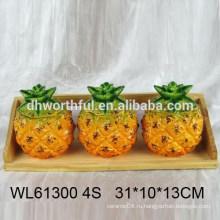 Набор высококачественных керамических приправ из ананаса